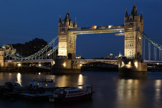 Tower Bridge à Londres