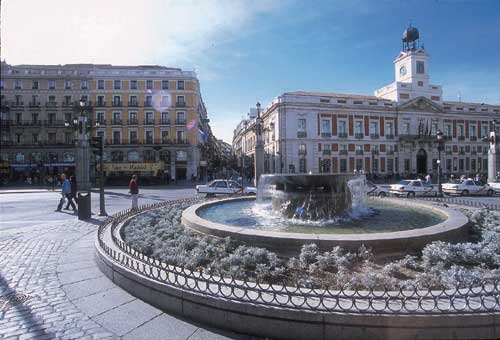 fontaine madrid