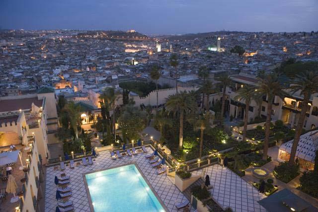 MEDINA MINARET à Fez de nuit